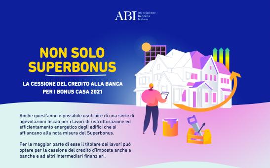 Bonus Casa: online la nuova guida sulla cessione del credito alla banca