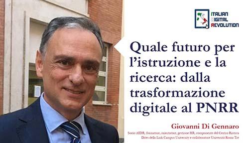 Quale futuro per l'istruzione e la ricerca: dalla trasformazione digitale al PNRR