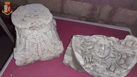 Reperti storici di inestimabile valore sequestrati dalla Polizia di Stato di Roma