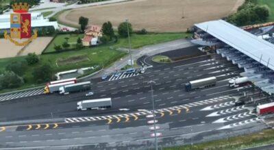 Vasta operazione delle polizie stradali di Italia e Slovenia al confine