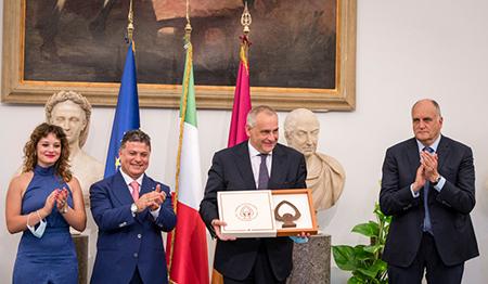 Conferito a Lamberto Giannini il premio della bella Italia