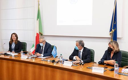 Firmato memorandum strategico tra Ministero degli Interni e Nazioni Unite