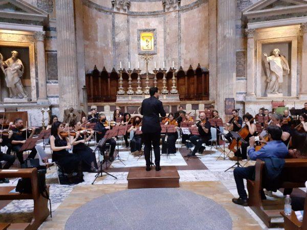 Prima assoluta: Pericle Odierna al Pantheon con la sinfonia Mythos per celebrare San Benedetto