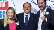 Berlusconi, salvini, meloni