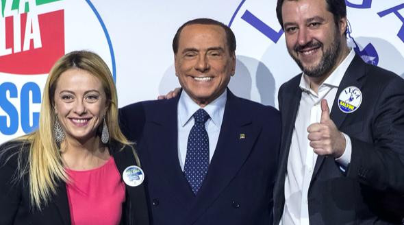 Centrodestra unito, la Meloni a pranzo da Berlusconi