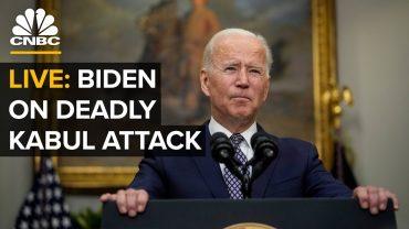 """Lo scaricabarile. Biden: """"Sapete che un ex presidente ha fattoun accordocon i talebani?"""""""