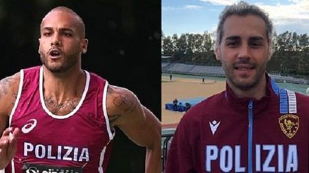 Tokyo. Gli atleti delle Fiamme Oro Gianmarco Tamberi e Marcell Jacobs sul tetto del mondo