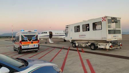 Aeronautica Militare. Neonato in pericolo di vita trasportato da Cagliari a Milano