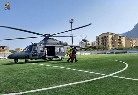 """Ricerca e soccorso: donna recuperata da equipaggio dell'82° Centro C.S.A.R. nella Riserva dello """"Zingaro"""""""