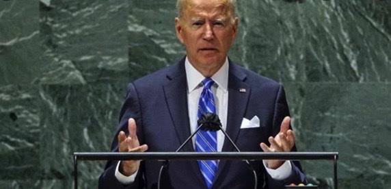 """Biden all'Onu: """"Si al rientro accordo nucleare con Iran e su Israele e Palestina, si ai due Stati"""