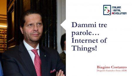 Dammi tre parole… Internet of Things!