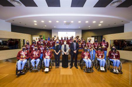 Gruppo Sportivo Fiamme ORO ricevuto al Viminale dal Capo della Polizia