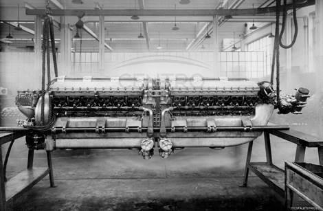 """Centenario Aeronautica Militare: associazione """"il Magnete"""" restaura i motori dei primati aeronautici dei primi anni '30"""