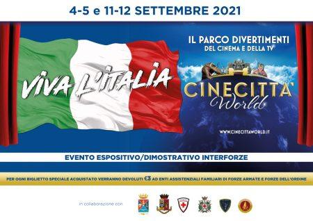 A Cinecittà World torna Viva l'Italia