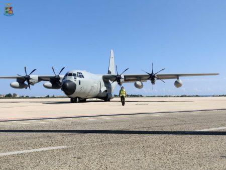 Trasporti sanitari: bambino in pericolo di vita trasportato da Lamezia a Genova a bordo di un C-130J dell'Aeronautica Militare