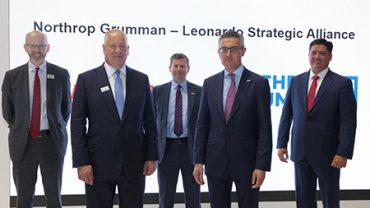 Leonardo_Northrop Grumman_Partnership_VTOL_UAS_photo