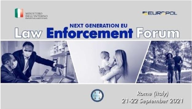 """21 Settembre 2021 al via il """"Law Enforcement Forum"""""""