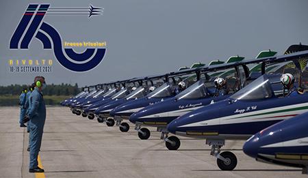 Frecce Tricolori: L'Aeronautica Militare ha festeggiato I 60 Anni della Pattuglia Acrobatica Nazionale