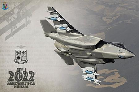 Calendario Aeronautica militare 2022: dai primordi del volo al volto più moderno e tecnologico della forza armata