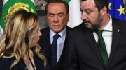 Salvini, melon, Berlusconi