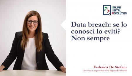 Data breach: se lo conosci lo eviti? Non sempre