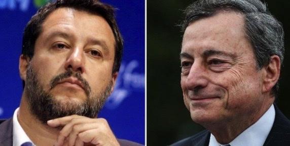 """Draghi-Salvini, pace fatta. Salvini: """"d'ora in poi incontri settimanali con il premier"""""""