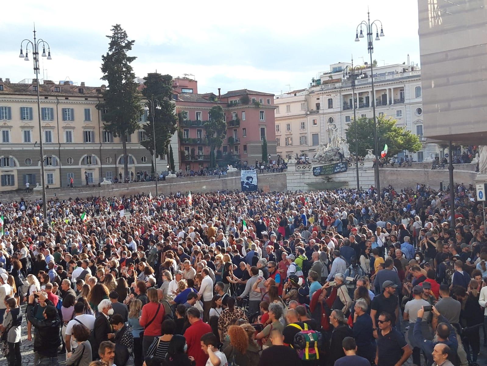 La Carica degli ottantamila a Piazza del Popolo