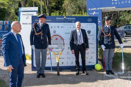 La Polizia di Stato insieme all'iniziativa Tennis&Friends